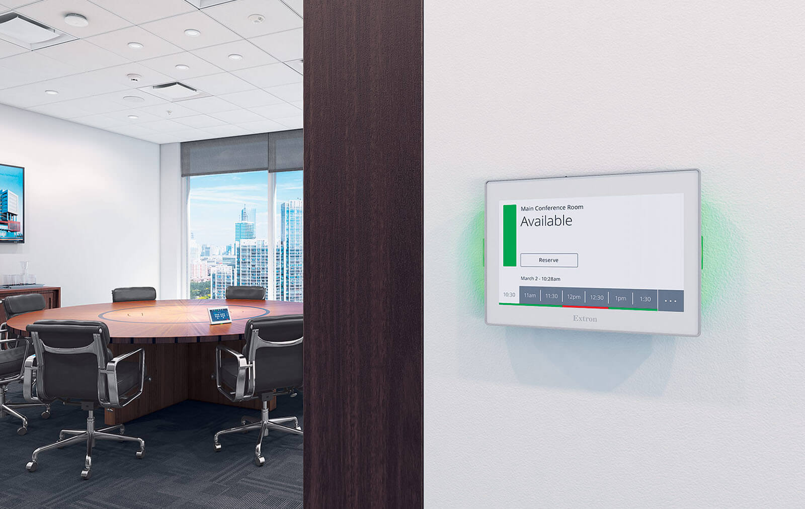 Simplify Your Meeting Room Scheduling with Extron   Article
